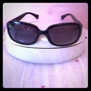 EUC Coach Sunglasses With Case